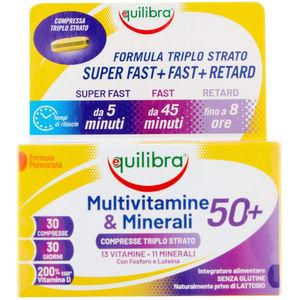 Equilibra Multivitamine e minerali 50 +