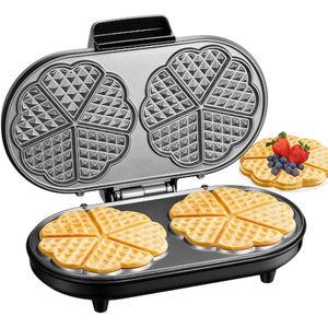 Aicook Piastra per waffle doppia