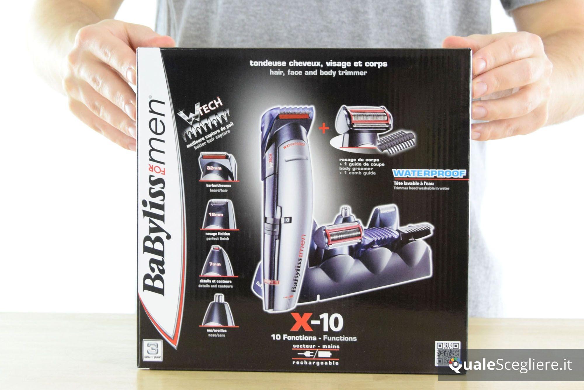 BaByliss For Men E837E X-10 Kit