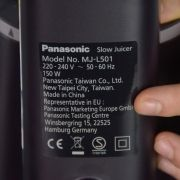 Panasonic MJ-L501KXE