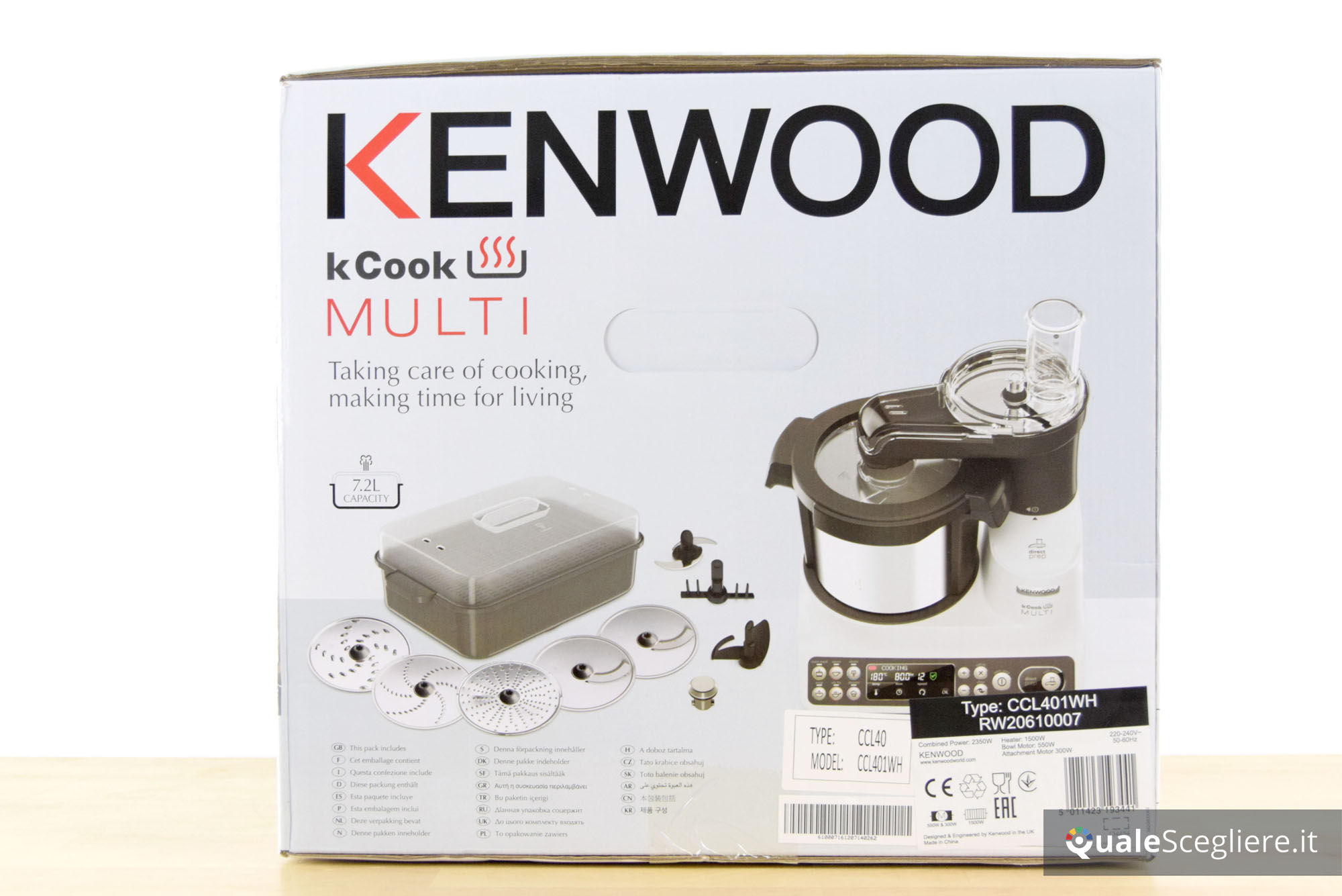 Recensione Kenwood Kcook Multi Ccl401wh Qualescegliere It