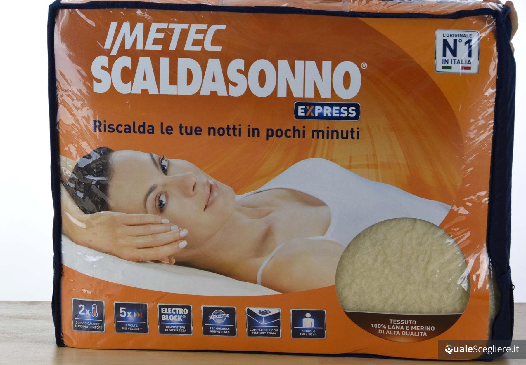 Prezzo Scaldasonno Singolo Imetec.Imetec Scaldasonno Express 16284